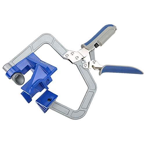 YANQIN Abrazadera de esquina de ángulo recto, herramientas de abrazaderas de ángulo recto de 90 °, herramienta de mano de sujeción de carpintería para trabajo de madera, ingeniería, soldadura
