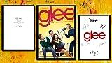 Glee - Póster de guión con impresión de autógrafo, ideal para el hogar y para hombres y mujeres, con imagen firmada