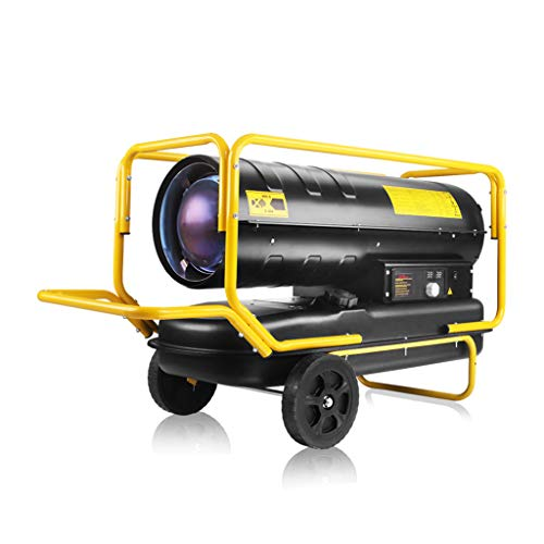 Industrial heater Even Kerosin/Diesel-Umluft-Kerosin-Heizgerät, Safe-Heizgerät für den Innenbereich, Schnellheizung mit einstellbarem Thermostat, für Garagen, Werkstätten, Lagerhallen, Zelte