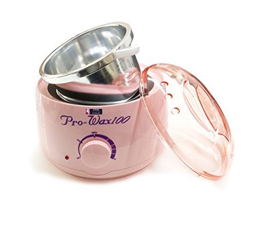 Crisnails - Calentador de Cera Eléctrico para la Depilación Profesional 500ml, Color Rosa