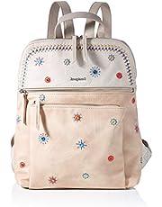 Desigual PU Backpack Medium, Gorilla Sports-Mochila de Poliuretano (tamaño Mediano) para Mujer, M