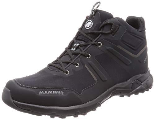 Mammut Ultimate Pro Mid GTX, Zapatos de High Rise Senderismo Hombre, Negro (Black/Black 0052)