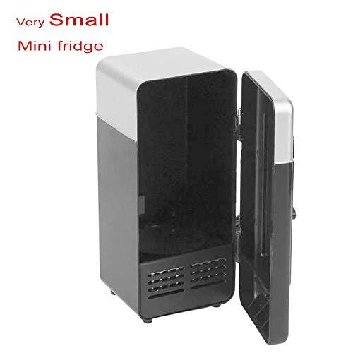 UEHH Super Mini Kühlschrank, sehr kleine Kosmetik, Autokühlschrank, USB-Schnittstelle, Geeignet für Familien, Auto, Picknick, Hautpflegeprodukte, Beauty Freezer, 194 * 90 * 90Mm