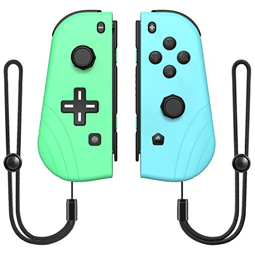 Wireless Switch Controller for N-Switch/Switch Lite, RegeMoudal Switch Joy-Con(L/R) Support Wake-up Function, Gamepad Joystick Replacement for N-Switch Console