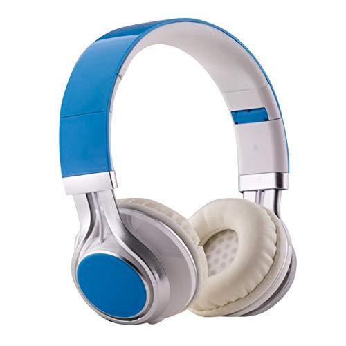 Jinxuny On-Ear-Kopfhörer mit Kabelsteuerung Stereo-Headsets mit Integriertem Mikrofon für Handy-TV-Pcs Weiche Ohrenschützer mit Tiefem Bass Und Geringes Gewicht für Längeres Tragen