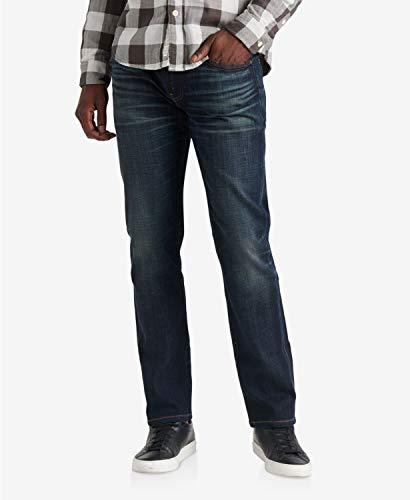 ラッキーブランド ボトムス サイズ:33x30 デニムパンツ Men's 223 Straight Coolmax Jeans Leon Park メンズ [並行輸入品]