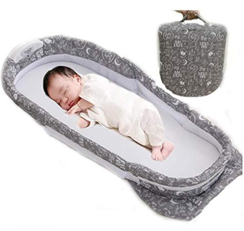 Multifunctionele Baby Veranderende Tassen Reizen Bassinet Bed Draagbare Opvouwbare Tas Tas Nappy Veranderende Tas Baby wieg Muziek Geschikt voor 0-7 Maanden