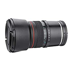 DAUERHAFT Mittleres Teleobjektiv Pure Manual Lens 'einzigartiges Charm E-Mount-Objektiv für So-ny