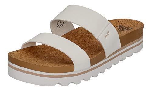 Reef Women's Sandals Cushion Vista Hi, Platform Sandals for Women, Cloud, 9
