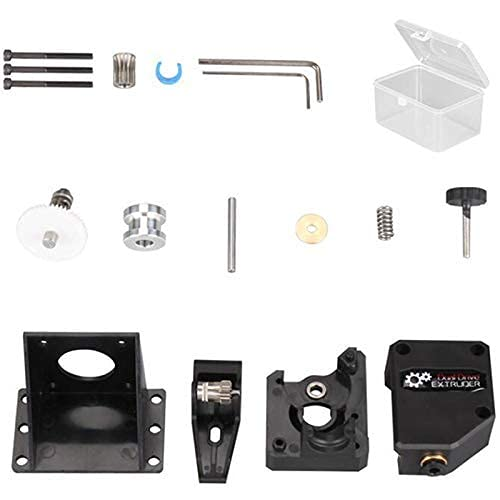 Good Stability Printer Accessories 3D Printer Parts BMG Extruder Cloned for Dual Drive Extruder for Bowden Extruder Filament for Dual Gear for DIY 3D Printer Kit Replace Damaged