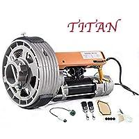 KIT MOTOR PUERTA ENROLLABLE TITAN 170KG
