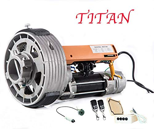 KIT MOTOR PUERTA ENROLLABLE TITAN 170KG