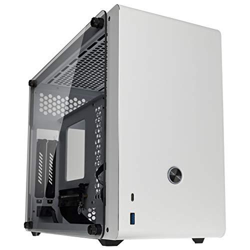 Raijintek Boitier Mini ITX Ophion Evo avec Panneaux vitrés White