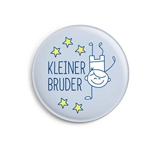 dabelino | Button Kleiner Bruder (Ø32mm) mit Karte | Geschenk