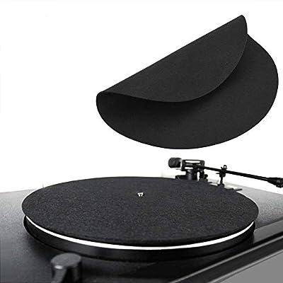 XingYue Direct 1PCS Ultra-thin Anti-static Vinyl Turntable Record Pad Antistatic Flat Soft Mat Slipmat Mat Pad