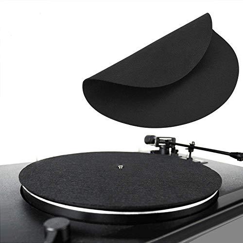1 STÜCKE ultradünne antistatische Vinyl Plattenspieler Record Pad Antistatische Flache Weiche Matte Slipmat Mat Pad