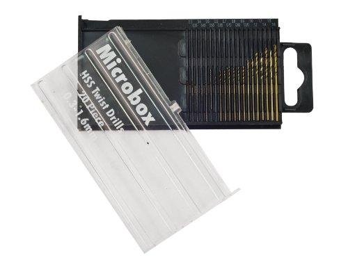 Preisvergleich Produktbild Rolson 48304 Micro HSS-Bohrer Set,  20-teilig