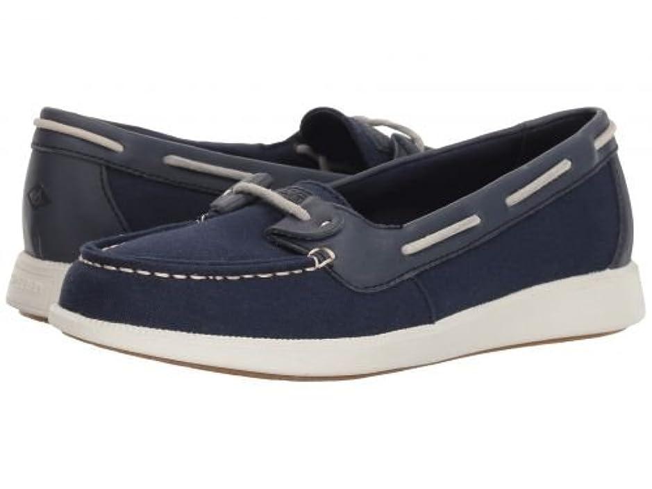 ロマンチック話コアSperry(スペリー) レディース 女性用 シューズ 靴 ボートシューズ Oasis Loft Canvas - Navy 6 M (B) [並行輸入品]