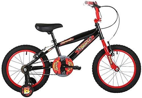 Bumper Ninja Jungen 45,7  Asphalt Bike Schwarzrot