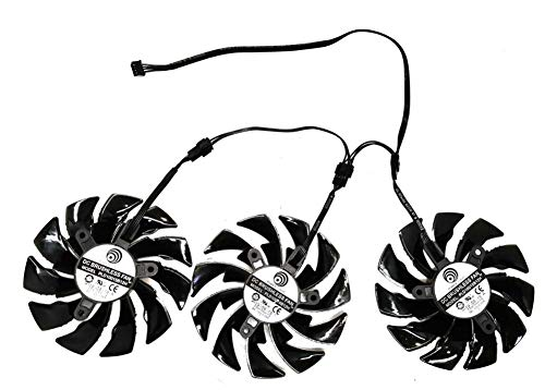 PLD10015B12H 12V 0,55A T129215BU für Gigayte AORUS GeForce GTX 1070 1080 Ti RTX 2060 1080Ti RTX2060 Xtreme Edition Gaming Cooler