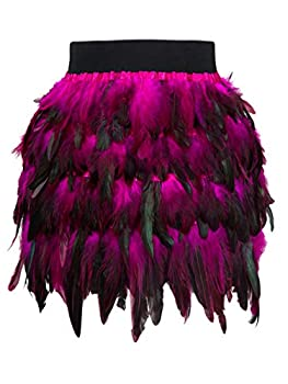 Best pink feathered skirt Reviews