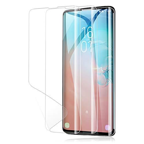 VIFLYKOO Pellicola Protettiva per Samsung Galaxy S10,HD TPU Clear Copertura Completa Film Morbido,Niente Bolle,Protezione Massima 3D,Pellicola AntiGraffio Resistente agli Graffi per Samsung S10