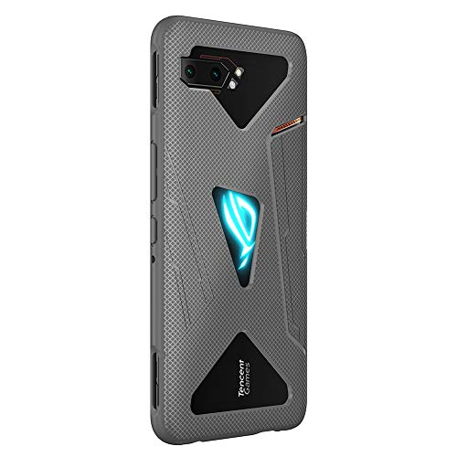 NOKOER Hülle für Asus ROG Phone 2, TPU-Material Weich Superdünn Hülle, Slim Fit Wärmeableitung Handyhülle [Abriebfest] [rutschfest] - Gray