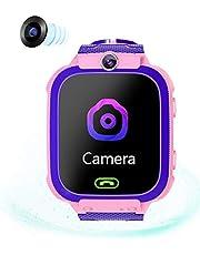 LTDD Smartwatches voor kinderen, jongens en meisjes, tweeweggesprek high-definition touchscreen, ultradunne waterdichte student smartwatches