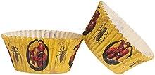 Dekora-339261 Spiderman Capsulas Cupcakes con Diseño de Marvel Spiderman-25 Unidades, Color dorado (339061