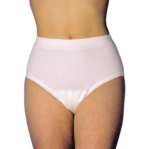 MEDISET made by modellia Inkontinez-Slip für Damen bei leichter Inkontinenz mit eingearbeiteter Saugeinlage ca. 175ml, Gr. 34/36