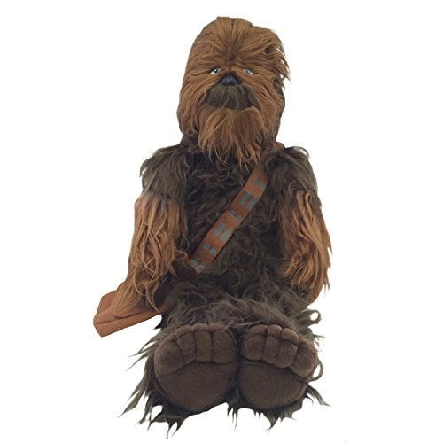 Jay Franco Plush Stuffed Pillow Buddy - Kids Super Soft Polyester Microfiber, 24 inch (Official Product), Star Wars - Chewbacca