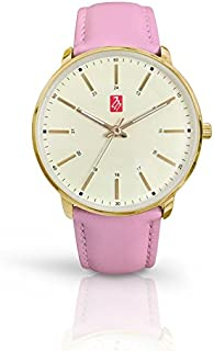 Prestige Medical Sunset Premium Watch, Gold with Pink Band