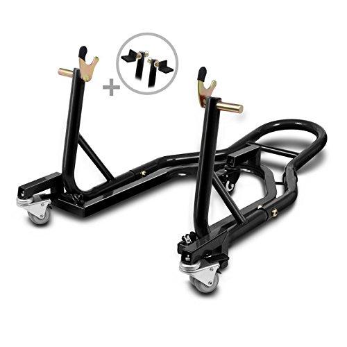 Caballete Trasero peana Aparcamiento Moto ConStands Mover II Black para Honda CBF 125, CBF 250, CBF 500, CBF 600, CBF 600 S, CBR 1000 F, CBR 1000 RR Fireblade