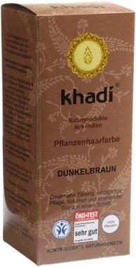 Khadi Bio Hair Color DARK BROWN - 100g