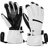 Best Ski Gloves - Unigear Ski Gloves Waterproof Touchscreen Snowboard Gloves, Warm Review