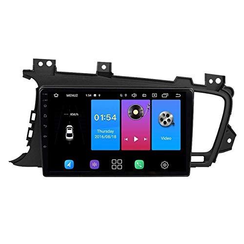 WY-CAR 9 Pulgadas Android 8.1 Pantalla Táctil Player Multimedia Multimedia para KIA K5 2011-2015, FM/Bluetooth/SWC/Enlace DE Espejo/Cámara De Vista Trasera,4 Core-WiFi: 4+64G
