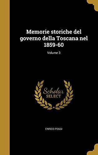 ITA-MEMORIE STORICHE DEL GOVER