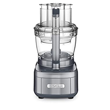 Cuisinart FP-13DGM Elemental 13 Cup Food Processor and Dicing Kit, Gunmetal