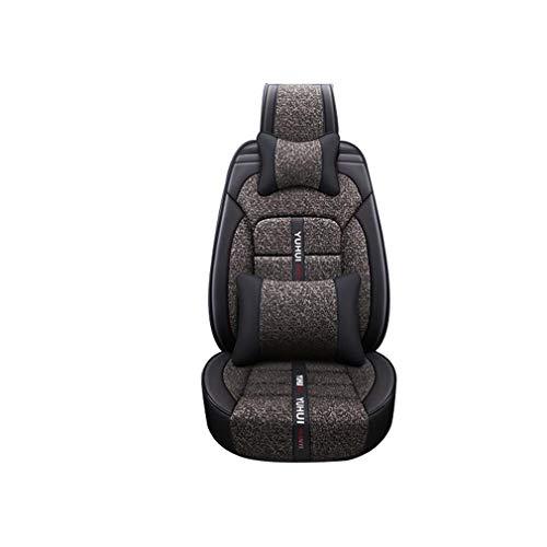 SZ JIAOJIAO autostoelhoezen stoelbeschermers interieur compatibel met Volvo XC40, XC60, S40, S60, S80, S90, V40, V60, V70, V90