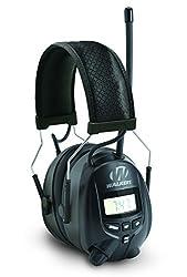 top 10 am fm radio headphones Walker AM / FM coupling, with digital display, black