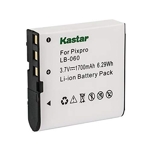 Kastar 1-Pack Battery Replacement for GE GB-60 Battery, GE GE X600 GE General Imaging Power Pro X600 Digital Camera SOSUN Sosun 301S-Plus Camera Camcorder