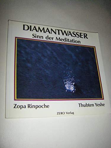 Diamantwasser I. Sinn der Meditation