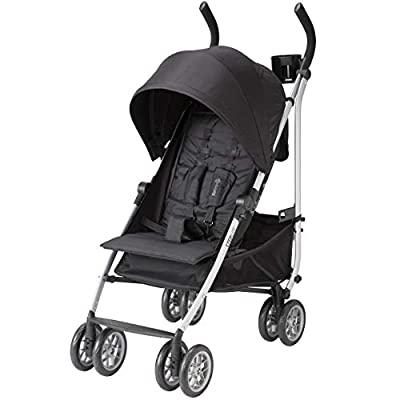 Safety 1st Step Lite Compact Stroller, Back to Black, One Size by Dorel Juvenile Group