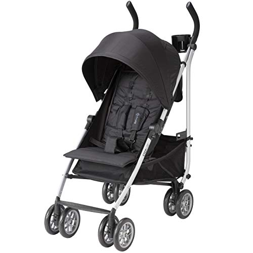 Safety 1st Step Lite Compact Stroller, Back to Black