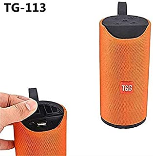 Welrock TG113 Super Bass Splashproof Wireless Bluetooth Speaker Best Sound Quality Playing with Mobile/Tablet/Laptop/AUX/Memory Card/Pan Drive/FM