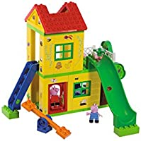 Simba 800057076 Plac Zabaw Peppa, Wielokolorowy, 75 Elementów