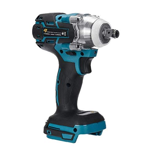 AAGOOD-18V Elektro-Schlagschrauber 1/2-Zoll-Brushless Cordless, Drehmoment 520Nm Schlüssel Power Tool Schlagfrequenz: 0-4000ipm