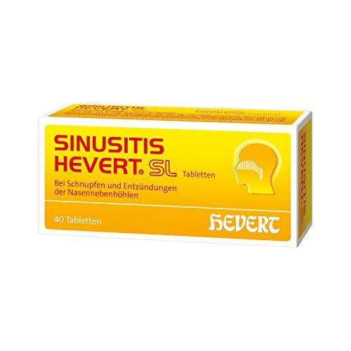 Sinusitis Hevert SL Tabletten, 40 St. Tabletten