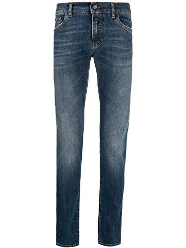 Luxury Fashion | Dolce E Gabbana heren GY07LDG8BY5S9001 blauwe jeans |