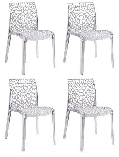 Meubletmoi Lot de 4 chaises GRUYER